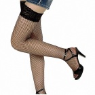 Sexy Lace Fishnet Stockings - Black (Free Size / Pair)