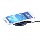 Mini Universal QI Standard Wireless Charger for Samsung Galaxy Note 2 N7100 / S4 i9500 - Black