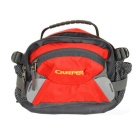 Creeper SY-082 Outdoor Travel Cycling Nylon Waist Bag - Red + Grey