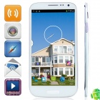"N9202 MTK6589 Quad-Core Android 4.2.2 WCDMA Bar Phone w/ 6.0"" HD, 16GB ROM, FM and GPS - White"