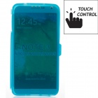 Protective TPU Back Case Cover for Samsung Galaxy Note 3 N9000 - Translucent Blue