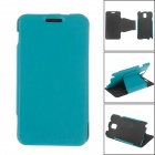"""XI DE NI"" Detachable Protective PU Leather Case Cover Stand for Samsung Galaxy Note 3 N9000 - Blue"