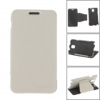 """XI DE NI"" Detachable Protective PU Leather Case Cover Stand for Samsung Galaxy Note 3 N9000 - White"