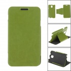 """XI DE NI"" Detachable Protective PU Leather Case Cover Stand for Samsung Galaxy Note 3 N9000 - Green"