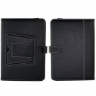 Touchpad Bluetooth V3.0 Wireless Keyboard Case Cover for Samsung Galaxy Note N8000 / N8010 - Black