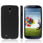 ENKAY Quicksand Style Protective Plastic Back Case for Samsung Galaxy S4 i9500 - Black