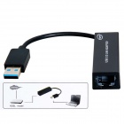 CU005 USB 3.0 to RJ45 Ethernet Adapter - Black