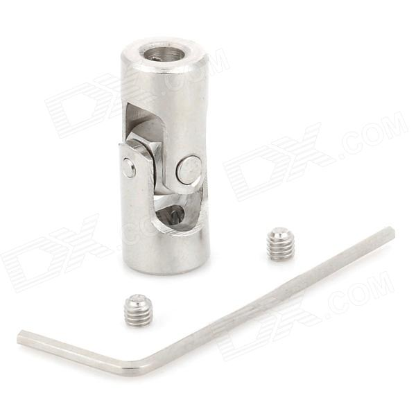 DIY Stainless Steel Motor Universal Coupling - Silver (4 x 4mm)