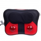MEIZIBAO MZB-688 30W Lumbar Cervical Massager Pillow - Red + Black (AC 220V / 2-Flat-Pin Plug)