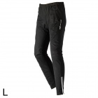 TOPCYCLING SAK635 Outdoor Cycling Windproof Warm Fleece Pants - Black (L)