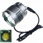 ZHISHUNJIA ZSJ-8025-U2*5 1600lm 3-Mode White Bicycle Light w/ Tail Signal Light