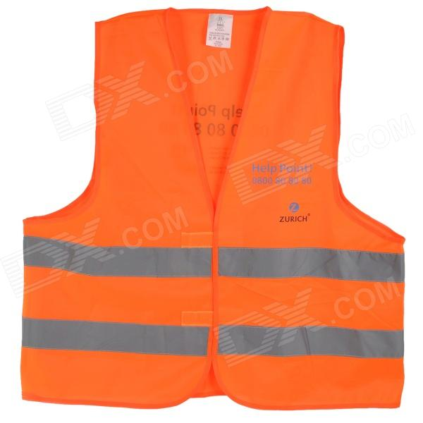 Salzmann HY2006 Cycling High Visibility Protective Clothing Vest - Fluorescent Orange