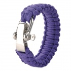 Emergency Escape Quick-Release Hand Rope - Purple