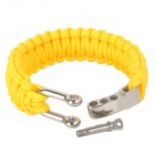 Emergency Escape Quick-Release Hand Rope - Yellow