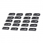 Futaba Servo Lead Lock - Black (20 PCS)