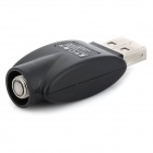 HDS1310017 USB Charger Adapter for EGO Electronic Cigarette - Black