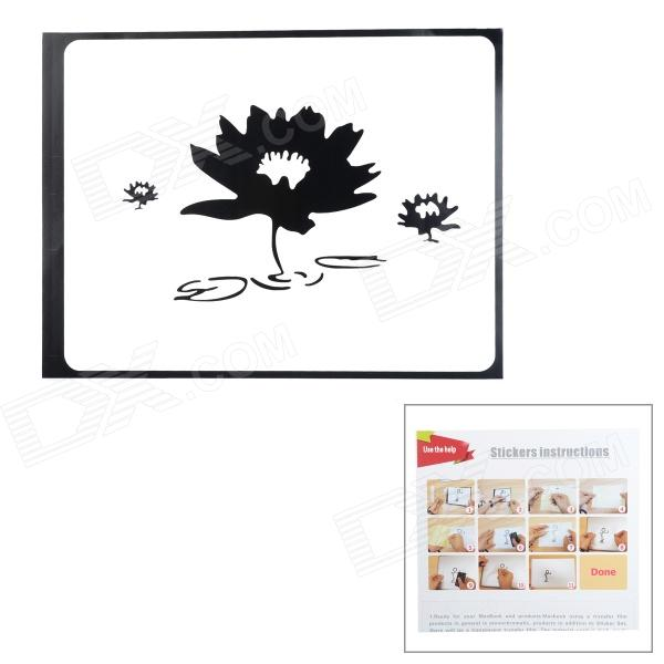 Creative Lotus Pattern Sticker for MacBook 11