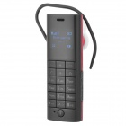 DIWEINUO D1 Mini Bluetooth v2.1 + EDR Headset GSM Dialer w/ Microphone / FM - Black + Red