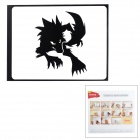 "Creative Wolf Pattern Sticker for MacBook 11"" / 13"" / 15"" / 17"" - Black"