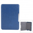 Ultrathin Protective PU Leather Case w/ Sleep Function for Amazon Kindle 5 - Dark Blue