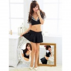 Sailor Character Women's Costumes - Black (Free Size)