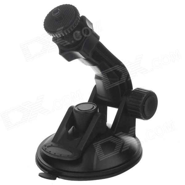 H80B High Quality Car Screw Holder for Automobile Data Recorder / GPS / Camera - Black