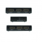 Ourspop OU51 1080p HDMI V1.4 Switch w/ Remote Controller - Black
