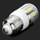 Lexing LX-YMD-051 E27 3W 3500K 150lm 27-SMD-5050 LED Warm White Corn Light Bulb - White (220~240V)