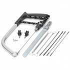 KS10 11-in-1 High Carbon Alloy Multifunction Wood / Metal Cutting Saw w/ Blades Set - Black + Silver