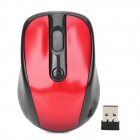 VMW-01 2.4GHz Wireless Optical 800 / 1200dpi Mouse - Red + Black (1 x AA)