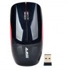 2.4G Wireless Optical 1000dpi Game Mouse - Black + Red (2 x AAA)