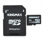 KingMax 8GB Micro SDHC/TF Card with SD Card Adapter