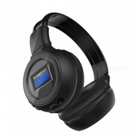 "1.2"" LCD Stereo Bluetooth V2.1 + EDR Headset - Black"