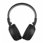 "1.2"" LCD Stereo Bluetooth V2.1 + EDR Headset w/ HSP / HFP / A2DP / AVRCP / TF / FM - Black"