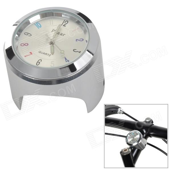 Universal Cycling Bicycle Mounted Mini Aluminium Alloy Clock  Watch - Silver вынос руля uno as 021 1 1 8 х 90мм х 31 8мм х 7 высота 41мм