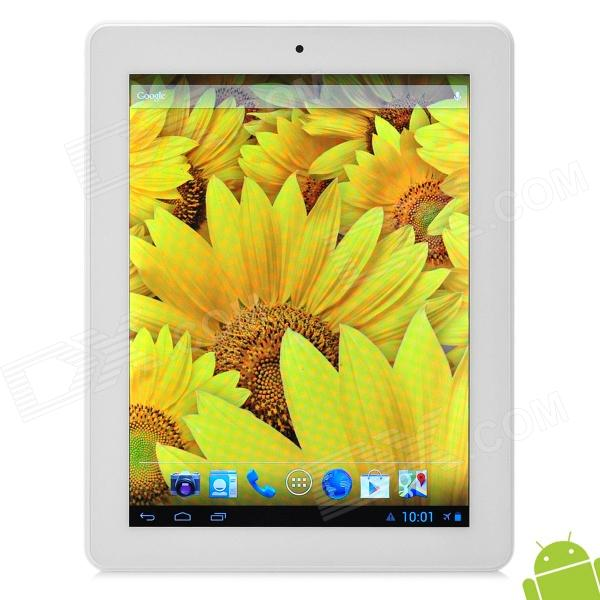 "SOXI X5 9.7 ""Android 4.1.2 Dual Core Tablet PC w / 1GB RAM / 8GB ROM / 1 x SIM / GPS - Pink + White"