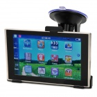 "BT-504 5"" TFT Resistive Win CE 6.0 Car GPS Navigator w/ 4GB ROM / IGO Brazil Map - Black"