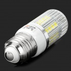 LeXing E27 3.5W 300lm 7000K 34-5050 SMD Cold White Light Corn Lamp