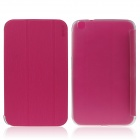 ENKAY ENK-7037 Protective PU Leather Case Cover for Samsung Galaxy Tab 3 8.0 T310 / T311 - Deep Pink