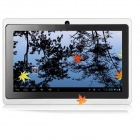 iRulu ZAK306 7″ Capacitive Android 4.0.3 Tablet PC w/ 512MB RAM, 4GB ROM, Wi-Fi – White + Black