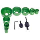 FEIBAO FB2156B 11-in-1 Opening Device Tapper Set - Black + Green