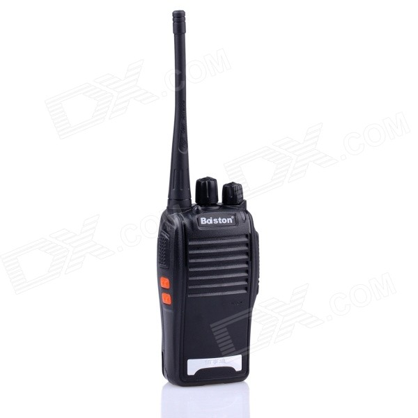 Boiston BST-320 4W 16-Channel 400.00-470.00MHz Walkie Talkie - Black
