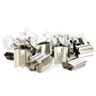 Stainless Steel Vegetable Fruit Biscuit Cookie Cutter Mold Set (21 PCS)