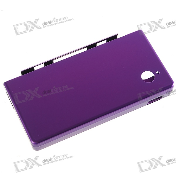 Protective Aluminum Case for NDSi/DSi (Purple)