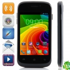 "S1 MTK6572 Dual-Core Android 2.3.6 WCDMA Bar Phone w/ 3.5"", Wi-Fi, FM and GPS - Black"