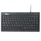 Jaway JK-8660 USB Wired 88-Key PC Keyboard w/ 10-Keys - Black