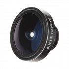 Lesung CP-18 Universal 185 Degree Clip-on Super Fisheye Lens for Mobile Phone / Tablet PC - Black