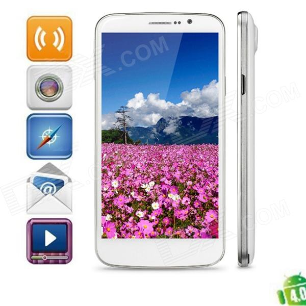 "Newman K2 Quad-Core Android 4.2 WCDMA Phone w/ 5.5"" FHD, 13.0 MP, Wi-Fi, GPS, 16GB ROM - White"