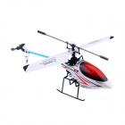 SyMA F3 2.4GHz 4-CH Remote Control R/C Helicopter - Red + White + Blue