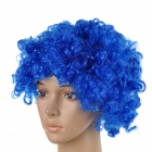 Fashionable Unique Afro Wig for Halloween - Blue